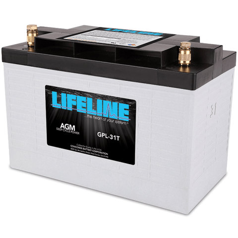 Lifeline AGM Deep-Cycle RV Battery, GPL-31T 12V 105Ah - Campervan HQ