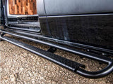 "Mercedes Sprinter Nerf Bars (144""WB, Passenger Side Detail) - Campervan HQ"