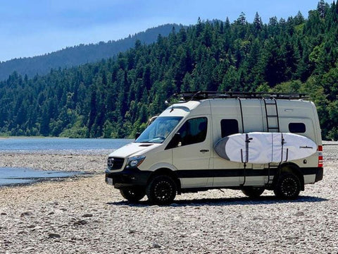 Mercedes Sprinter Surf Pole Van in lake View - Campervan HQ