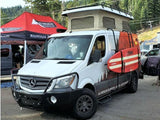 Mercedes Sprinter Surf Pole Use Demonstration - Campervan HQ
