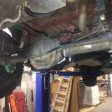 Mercedes Sprinter  (2500, 2013+) Single Rear Wheel Differential Skid Plate - Campervan HQ