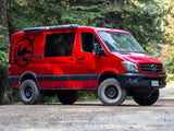 "Mercedes Sprinter 4x4 2"" Lift Kit (Passenger Side View) - Campervan HQ"