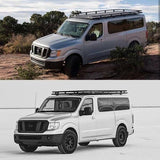 Nissan NV Aluminum Roof Rack - Campervan HQ