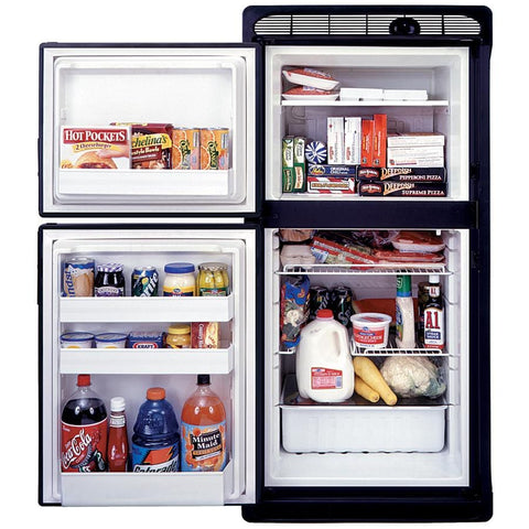 Norcold 7.0 Cubic Foot AC/DC RV Refrigerator (DE-0061) Door Panel (Black)