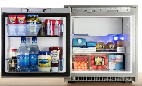 Norcold 2 7 Cubic Foot AC/DC Refrigerator (NR751) - Stainless Steel
