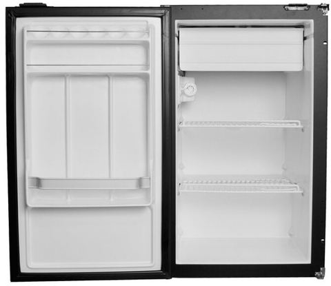 Nova Kool R3100 RV Refrigerator (Front View, Door Open)-Campervan HQ