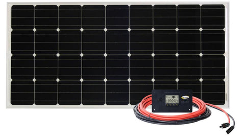 RV Solar Kit: Go Power 100W Retreat Solar Kit
