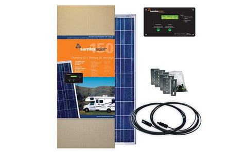 Samlex 150W RV Solar Kit - Campervan HQ