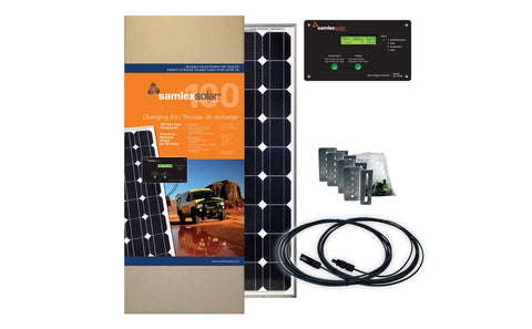 Samlex 100W RV Solar Kit - Campervan HQ