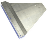 Mercedes Sprinter 2500/3500 Van (1996-2006) Transmission Skid Plate Angle View - Campervan HQ