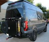 Mercedes Sprinter Slimline Rear Bumper (2019+)( Right Side View Bin and Tire Rack) -Campervan HQ