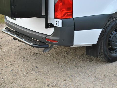 Mercedes Sprinter Rear Door Nerf Step (2019+)