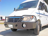 Mercedes Sprinter (2002-2006) Front Bumper with Brushguards - Campervan HQ