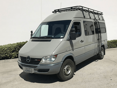 Mercedes Sprinter (2002-2006) Side Ladder - Campervan HQ