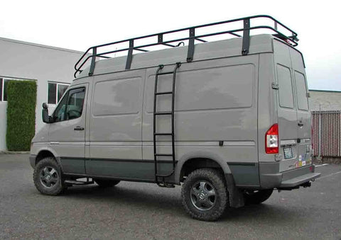 "Mercedes Sprinter Roof Rack for 158""WB Van (2002-2006) - Campervan HQ"