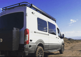 Ford Transit (2015+) Rear Bumper With Swing Arms - Campervan HQ