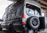 Ford Transit Rear Bumper With Swing Arms (Back Side) - Campervan HQ
