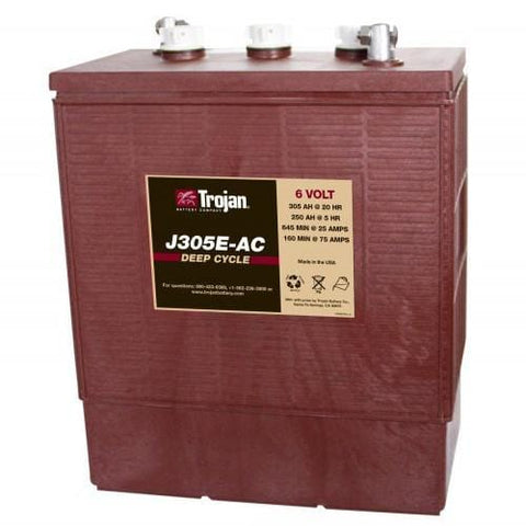 Trojan J305E-AC Lead-Acid Deep-Cycle RV Battery - Campervan HQ