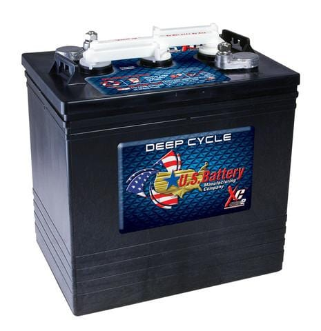 US Battery US2000 XC2 6V Lead-Acid Deep-Cycle RV Battery - Campervan HQ