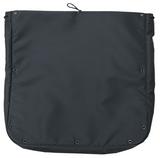 Stuff Bags for Vans, Large (Mesh Front, Black) (Bunker Series), Back Side - Campervan HQ