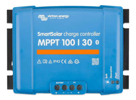 Victron SmartSolar Charge Controller MPPT 100/30 Top - Campervan HQ