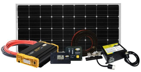 RV Solar Kit: Go Power 190W Weekender ISW