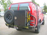 Deluxe Storage Box on 4x4 Camper Van - Campervan HQ
