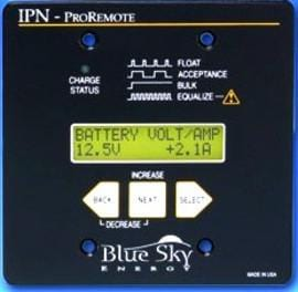 Blue Sky IPN PRO 500Amp Remote Display  with Shunt - Campervan HQ