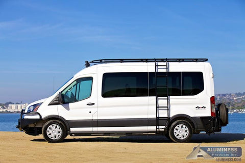Ford Transit Side Ladder - Campervan HQ