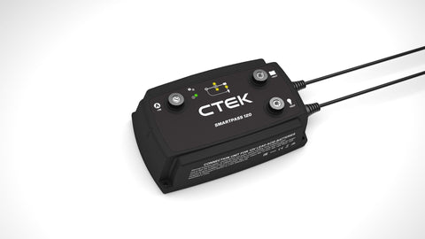 CTEK SmartPass 120 Battery Isolator/Energy Manager - Campervan HQ