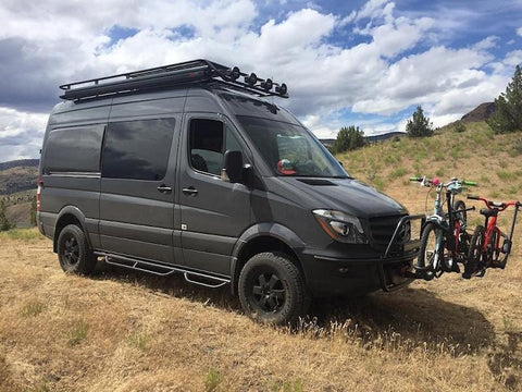 "Mercedes Sprinter 144""WB Roof Rack (2007+, High-Roof) - Campervan HQ"