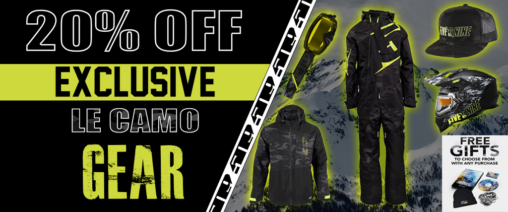 509 Limited Edition Black Camo Gear Sale