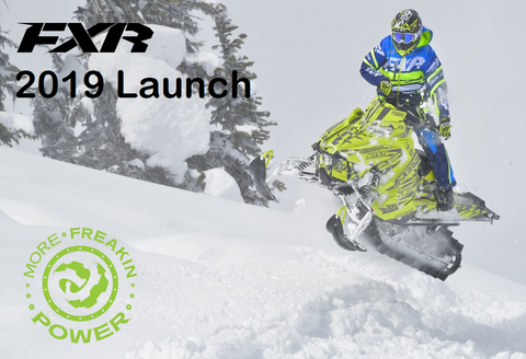 2019 FXR snowmobile gear and apparel