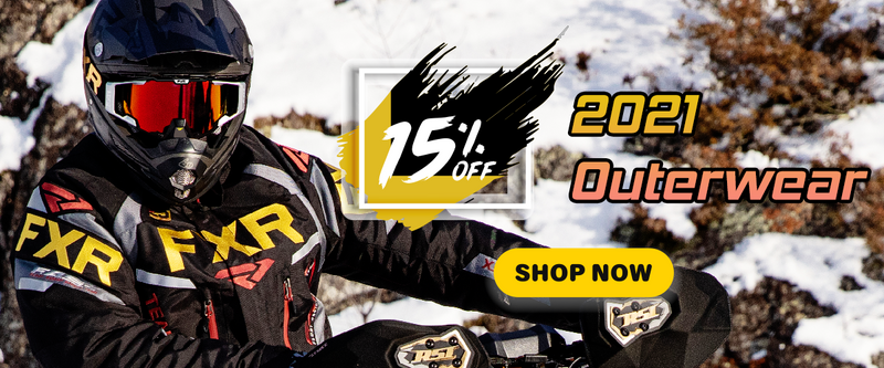 FXR 2021 gear sale
