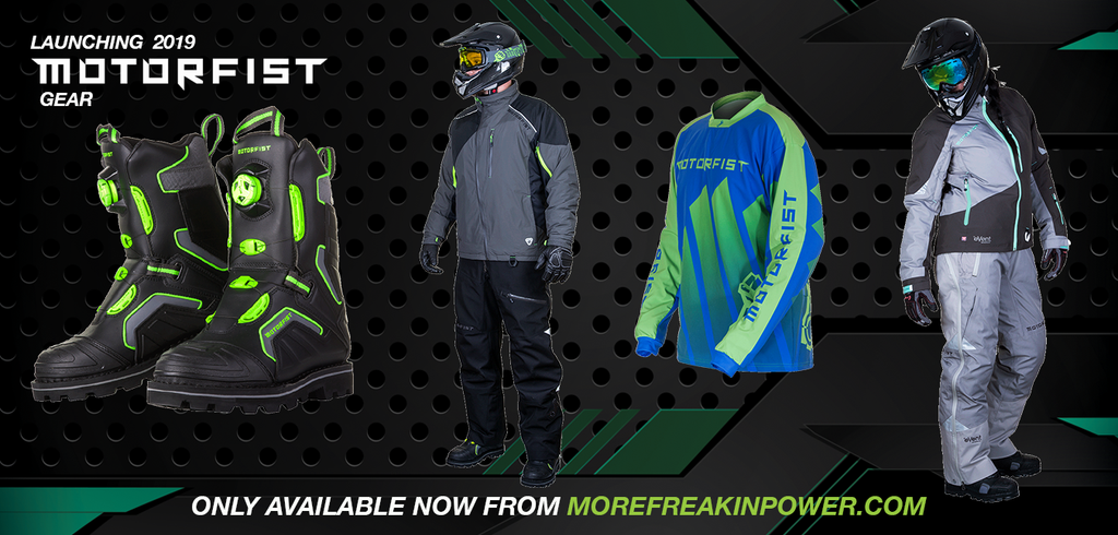 2019 Motorfist snowmobile gear and apparel