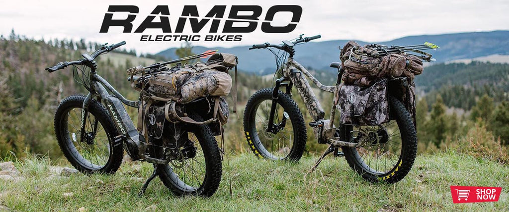 Rambo electric bike hunting bikes