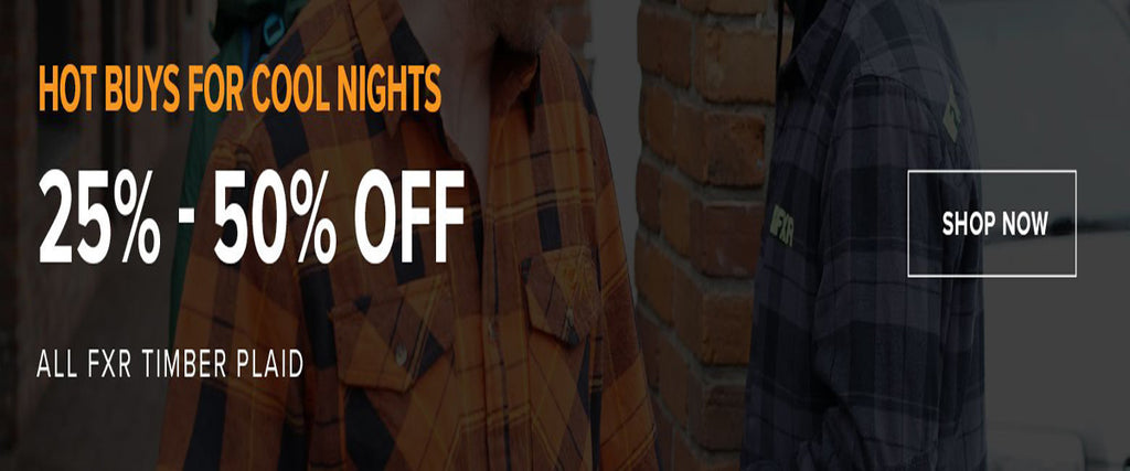 FXR Timber Plaid Sale