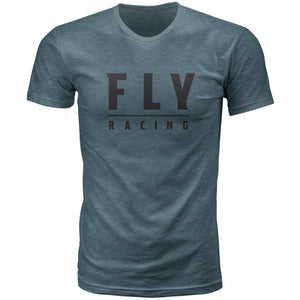Fly Racing Logo Tee 2020 Fly 2020 INDIGO BLUE 2X