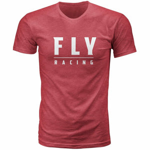 Fly Racing Logo Tee 2020 Fly 2020 CARDINAL RED 2X