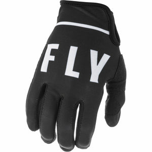 Fly Racing Youth Lite Gloves Fly Racing Off-Road Black/White 4