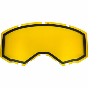 Fly Racing 2019 Zone/Focus Snow Goggle Replacement Non-Vented Lens Accessories Fly Racing YELLOW