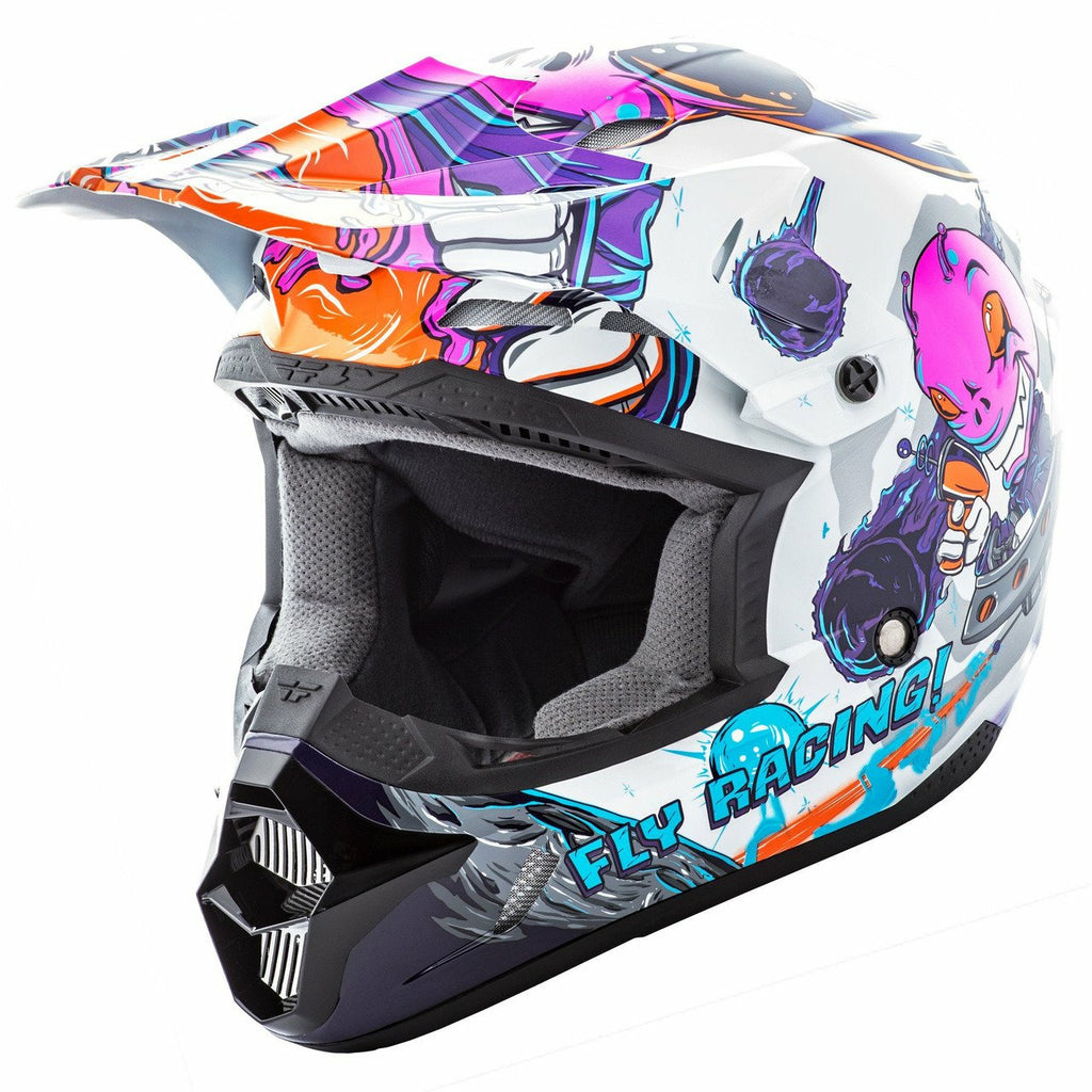 Fly Racing Kinetic Invazion Youth Helmet Helmet Fly Racing PINK YM