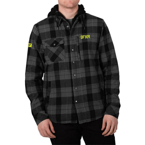 FXR Timber Plaid Insulated Men's Jacket 2020 Jacket FXR 2020 Black/Grey S