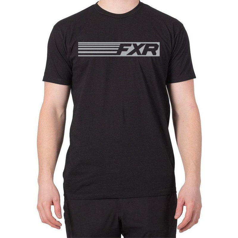 FXR Speed Men's T-Shirt 2020 T-Shirt FXR 2020 Black/Grey S