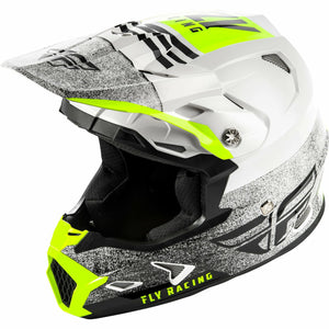Fly Racing Toxin MIPS Embargo Motocross Helmet Helmet Fly Racing WHITE/BLACK MD