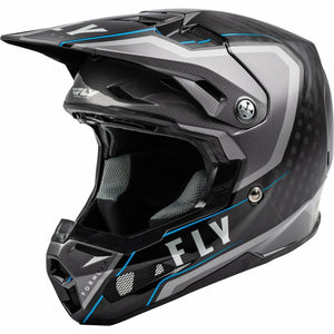 Fly Racing Formula Carbon Axon Helmet 21 Helmet Fly Racing BLACK/GREY/BLUE 2X