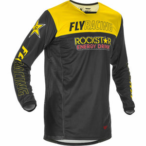 Fly Racing Kinetic Rockstar Jersey 21 Fly Racing 2021 YELLOW/BLACK 2X