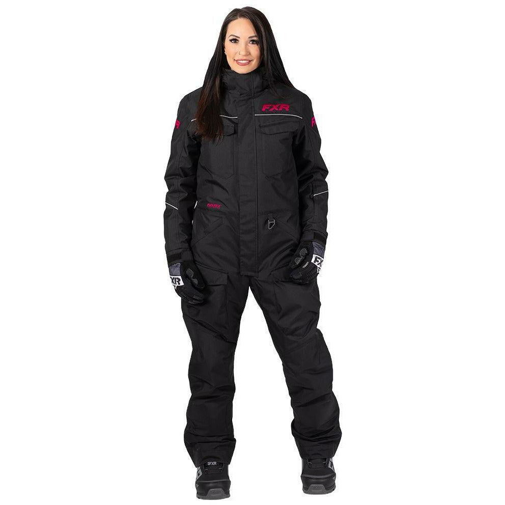 FXR Excursion Women's Monosuit 2020 Monosuit FXR 2020 Black/Fuchsia 2