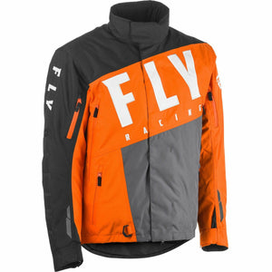 Fly Racing SNX Pro Jacket 2020 Jacket Fly Racing ORANGE/GREY/BLACK YL