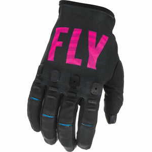 Fly Racing Youth Kinetic SE Gloves 21 Fly Racing 2021 BLACK/PINK/BLUE 4